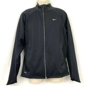 Nike Fit Storm Jacket M Mens Black Softshell
